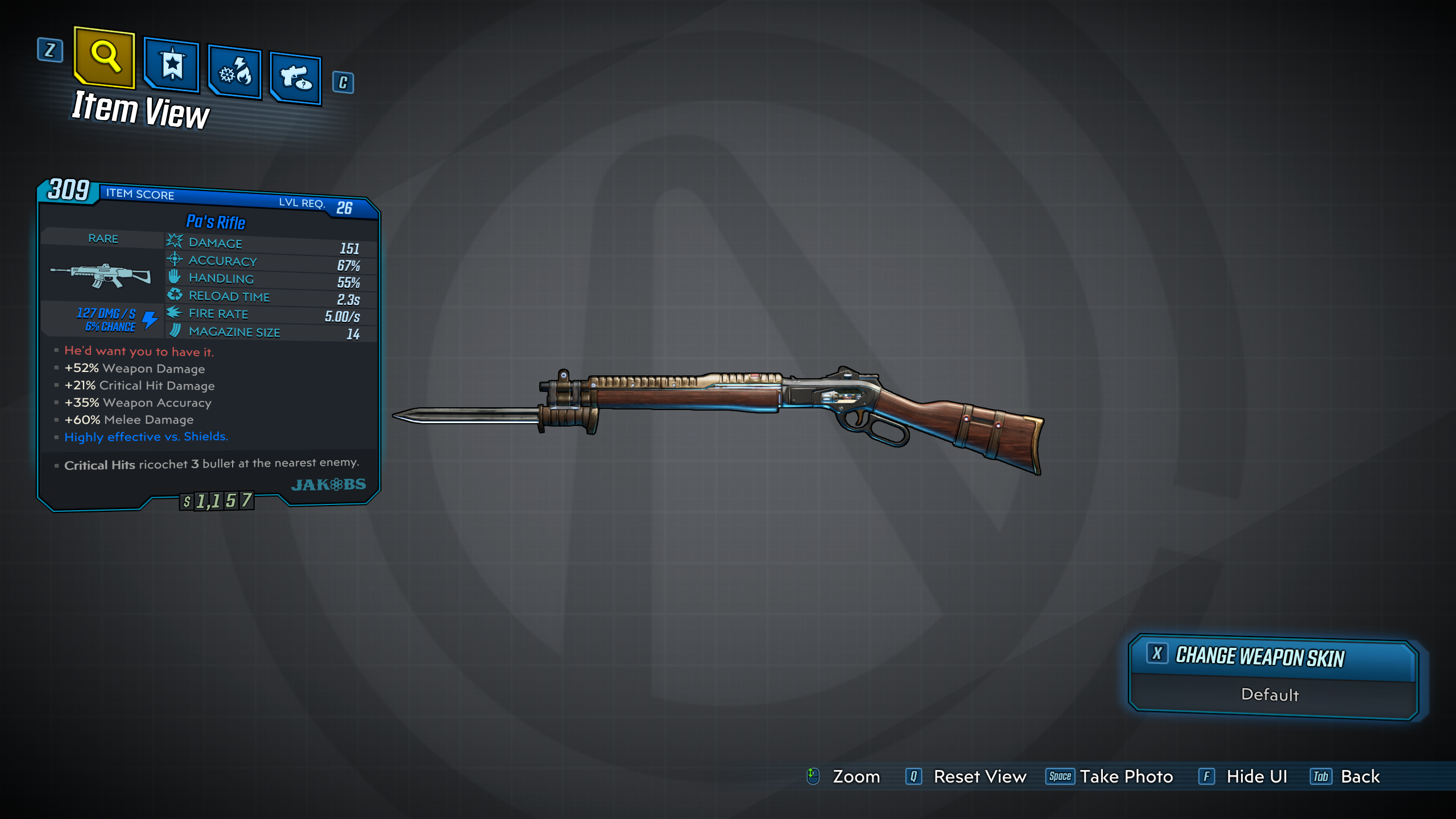Pa's Rifle