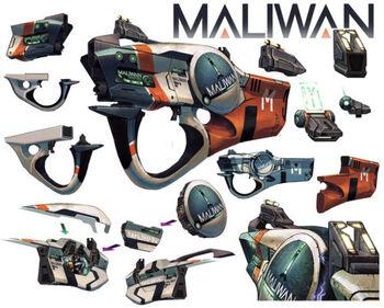 Waffenmodell Maliwan