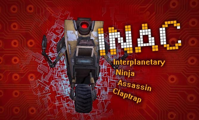 Interplanetary Ninja Assassin Claptrap