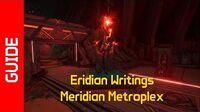 Meridian Metroplex Eridian Writings