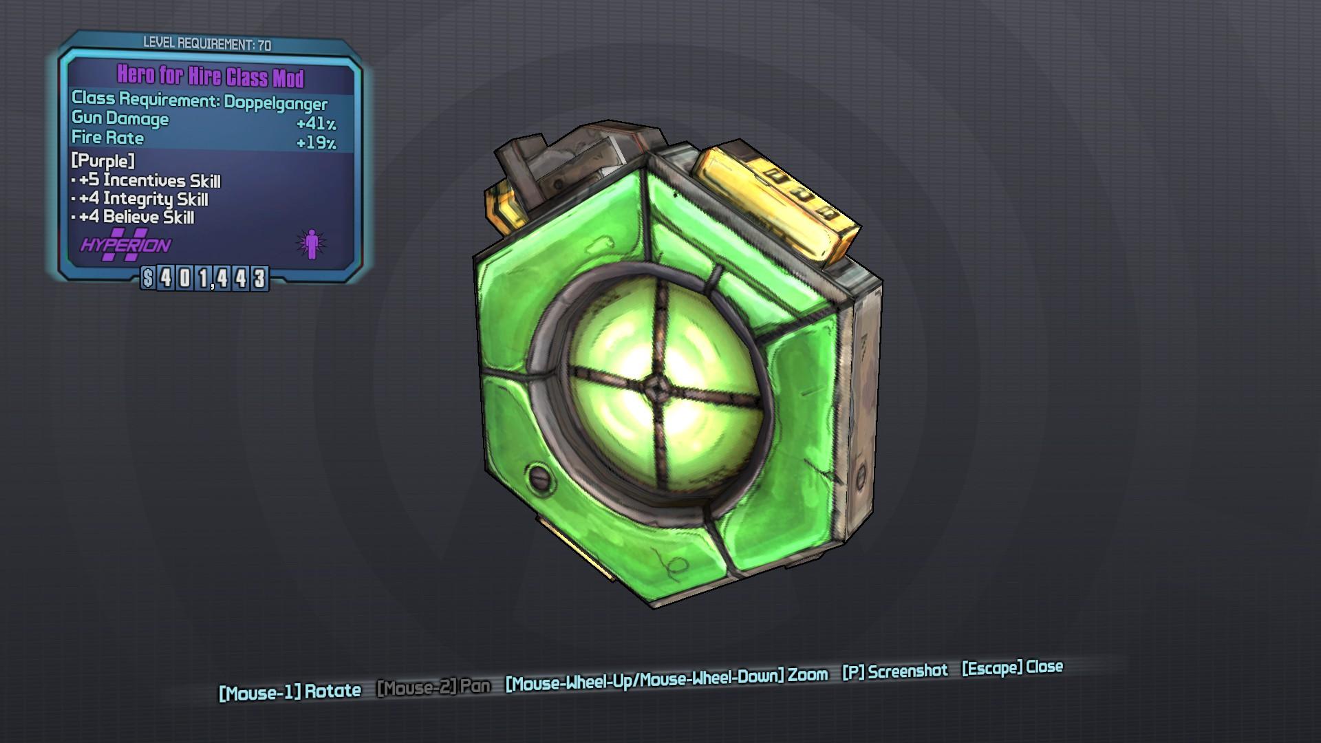 Hero (class mod)