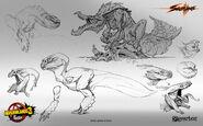 Max-davenport-maxdavenport-saurians-sketches