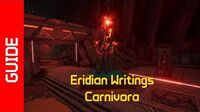 Carnivora Eridian Writings