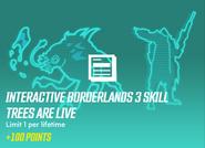 Interacive b3 skill tree are live