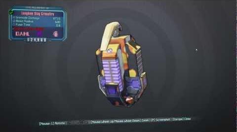 Borderlands 2 Torgue DLC - Crossfire Grenade Mod