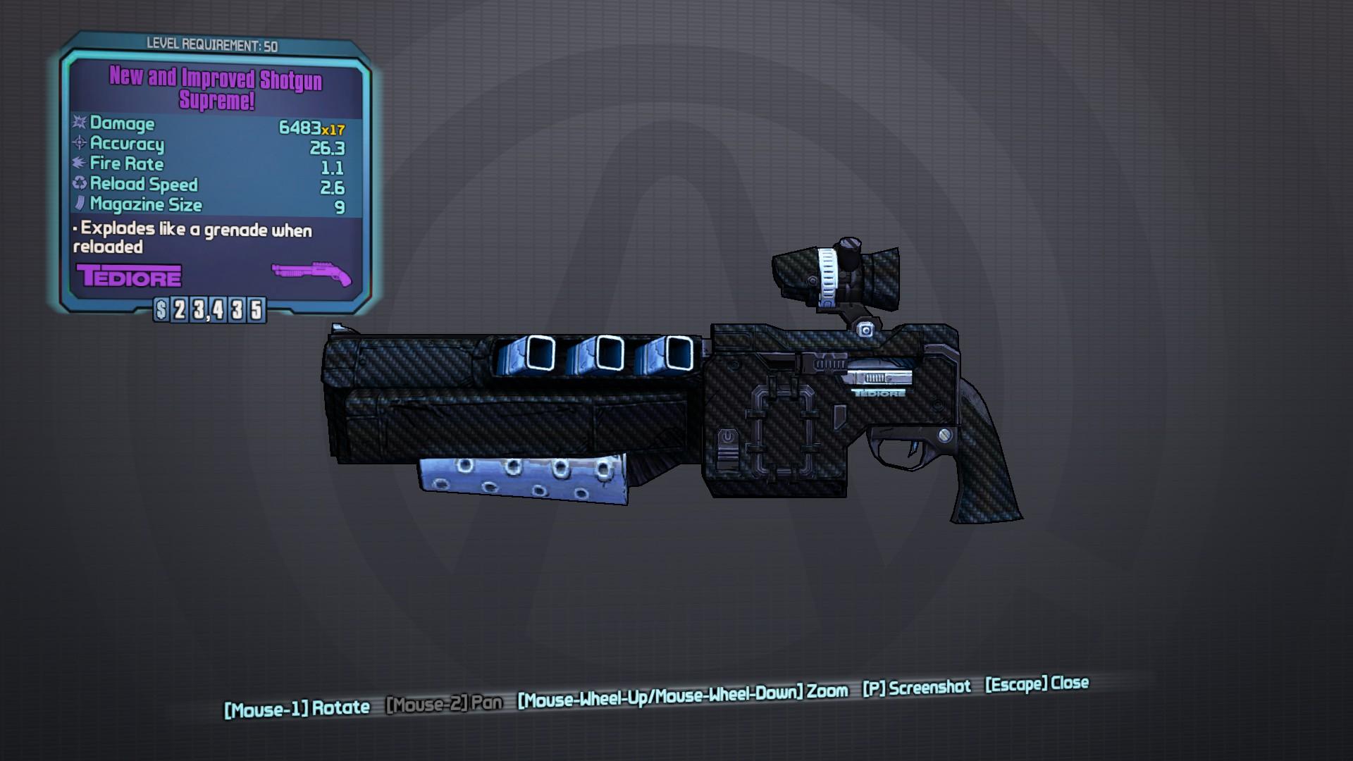 Shotgun Supreme!