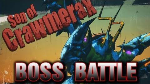 Son of Crawmerax Boss Battle - Borderlands 2