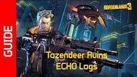 Tazendeer Ruins ECHO Recordings