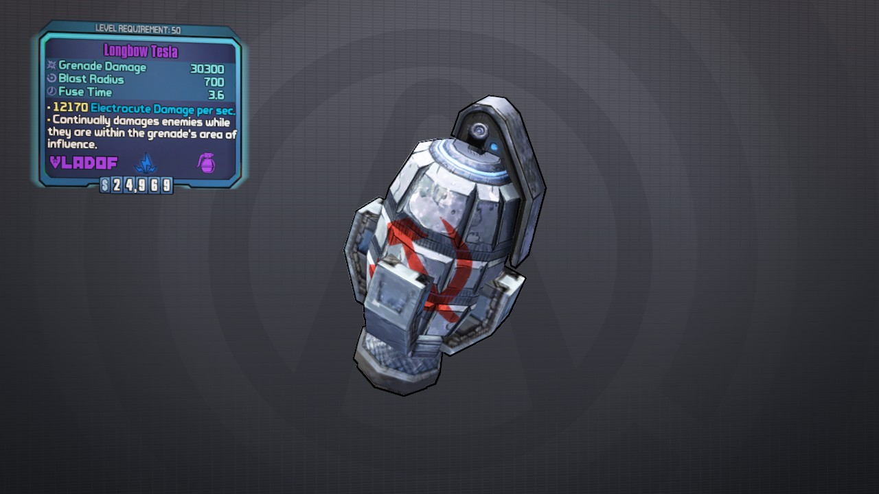 Area of Effect Grenade