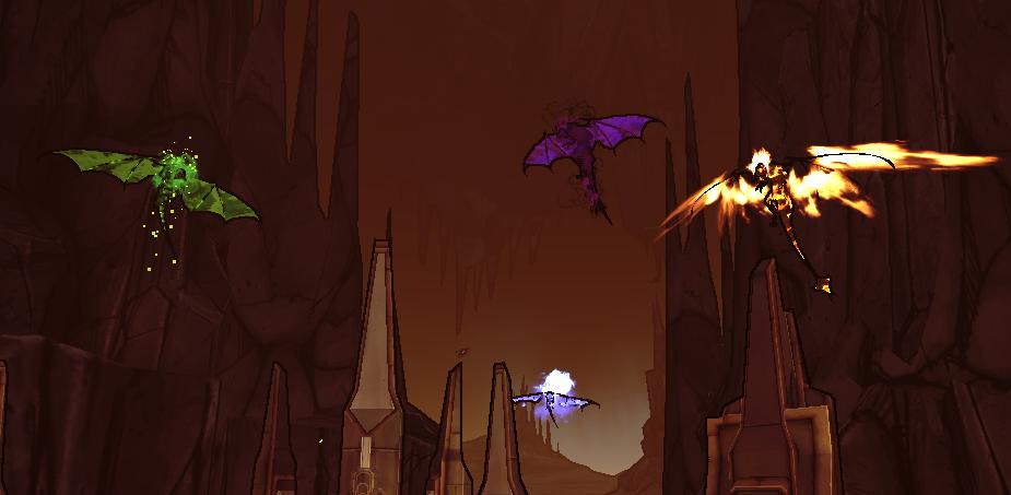 Ancient Dragons of Destruction