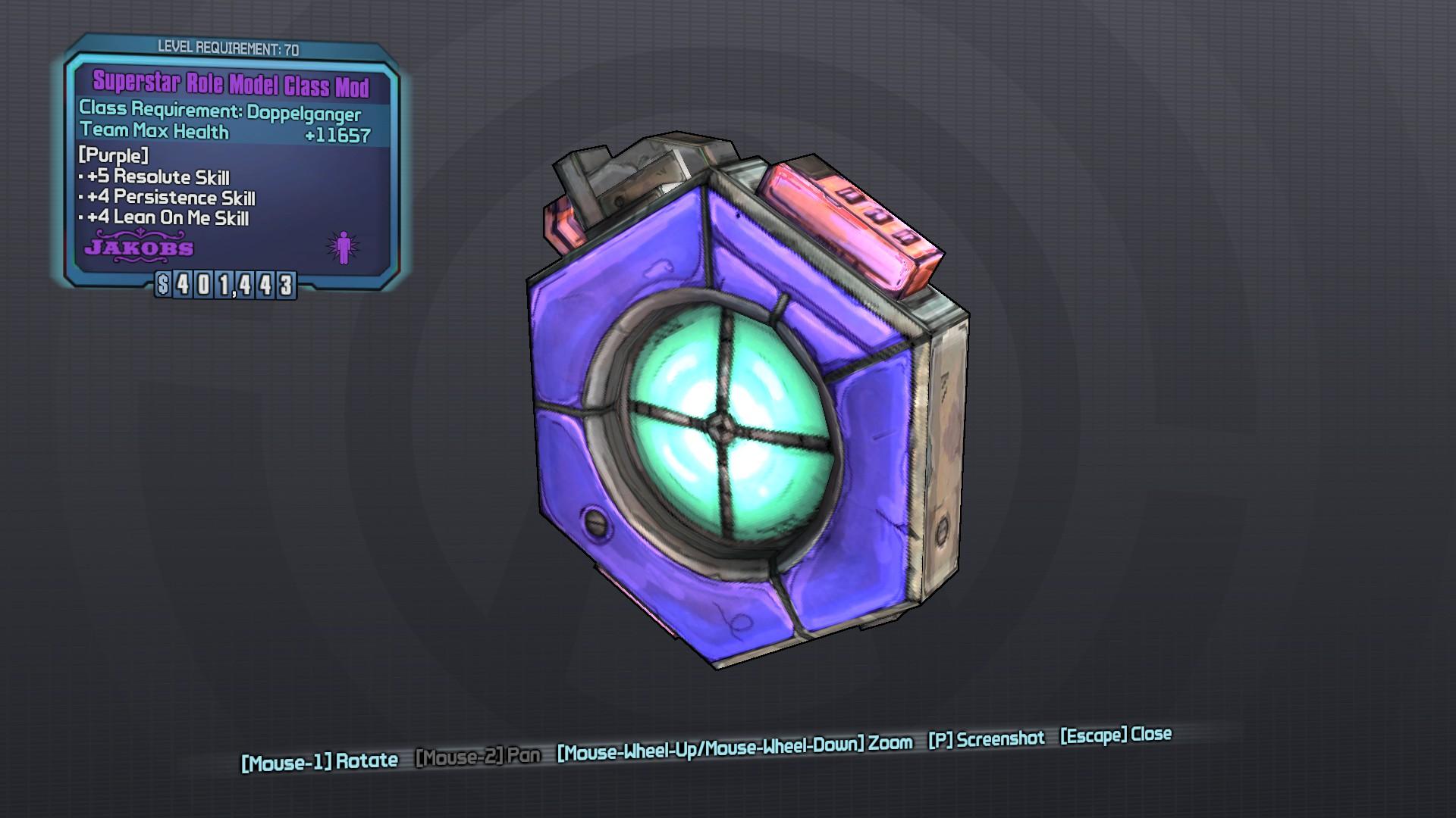 Role Model (class mod)
