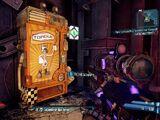 Torgue-Waffenautomat