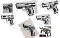 Dahl pistol sketches
