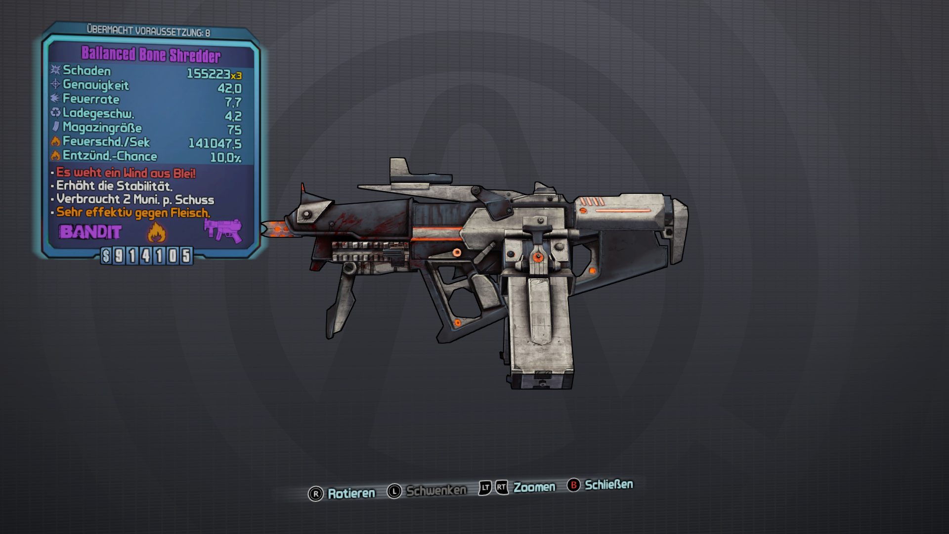 Bone Shredder (Borderlands 2)