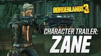 "Borderlands 3 - Zane Character Trailer ""Friends Like Zane"""