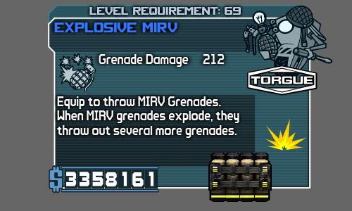 MIRV Grenade (Borderlands)