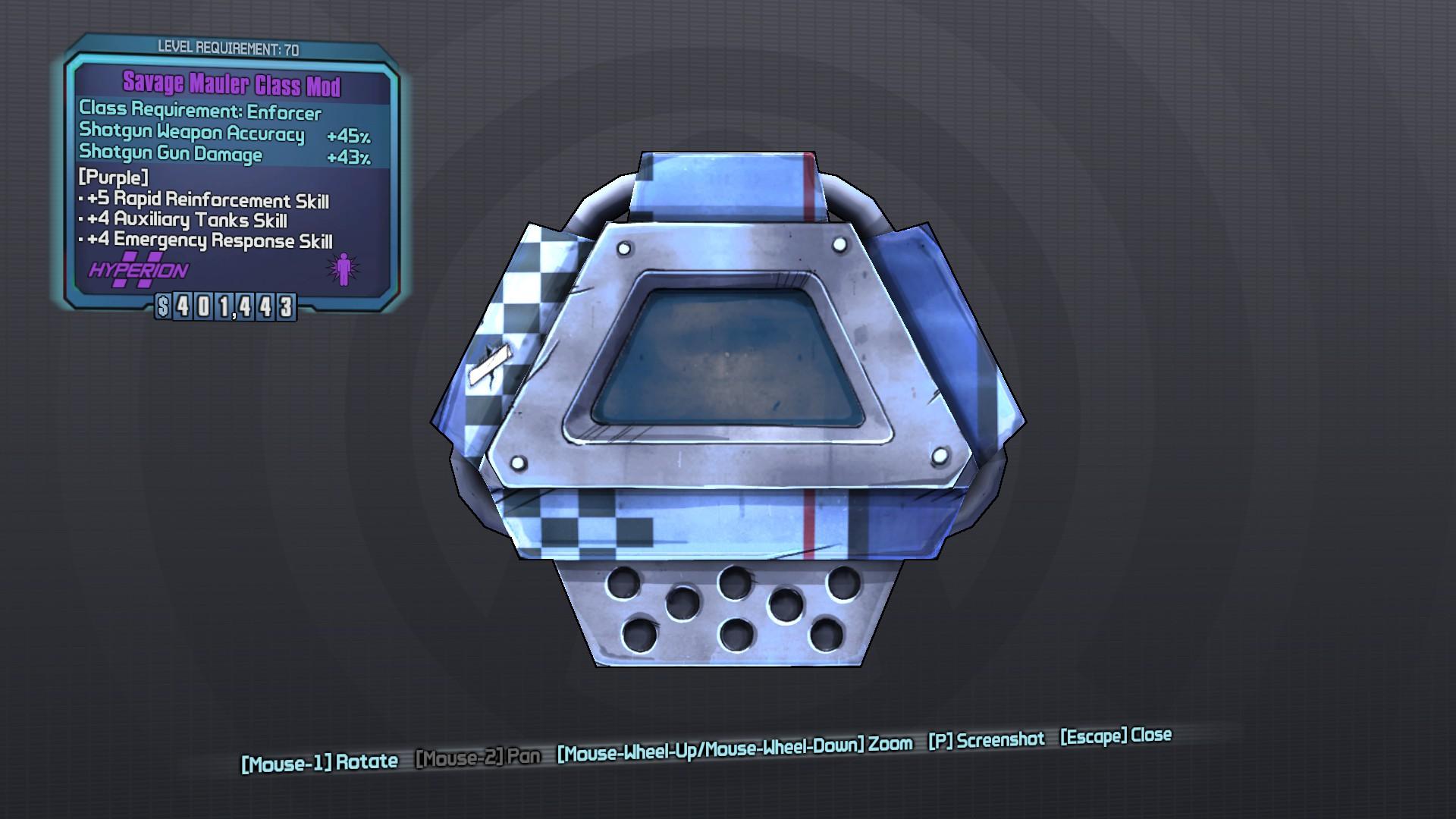Mauler (class mod)