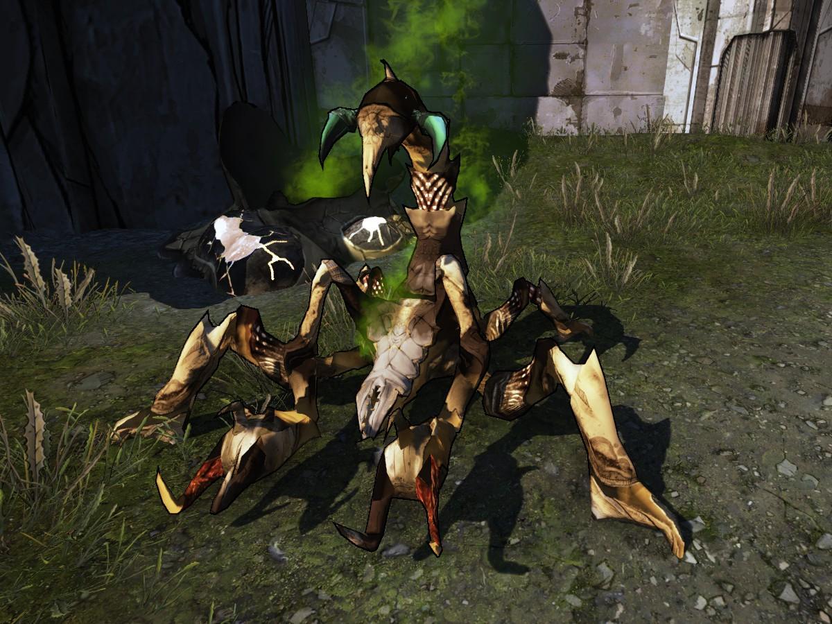 Diseased Scaylion