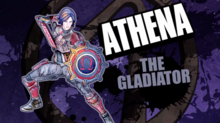 Athena THE gladiator