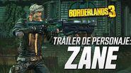 Borderlands 3 - Tráiler de personaje Zane