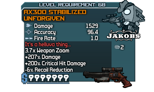 Unforgiven (Borderlands)