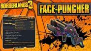 Borderlands 3 Face-puncher Legendary Weapon Guide (Shoot Melee Bullets!)