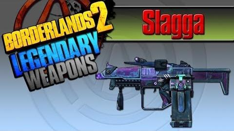 Borderlands 2 легендарные пушки 21 Slagga(Шлагизатор)