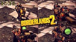 Borderlands 2 - Epic Dahl Weapons - Animations & Sounds w Slow Motion