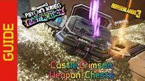 Castle Crimson Weapon Chests Guide