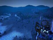 Terramorphous Peak viewed from the Bunker