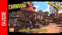 Carnivora Weapon Chests