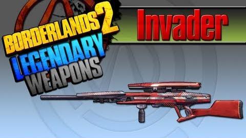BORDERLANDS 2 *Invader* Legendary Weapons Guide