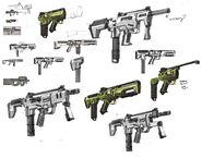 Dahl SMG sketches