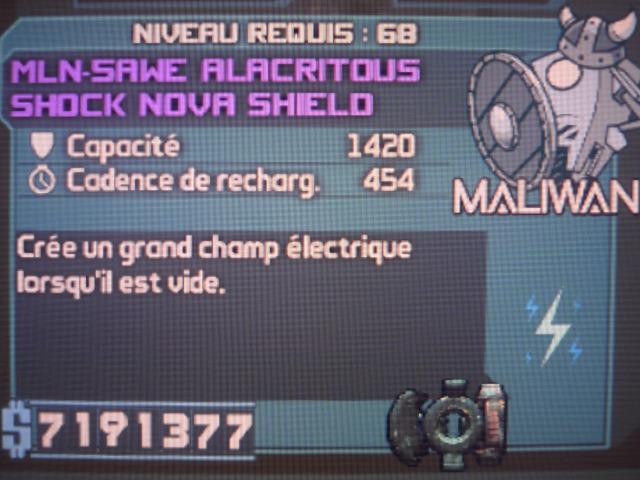 Shock Nova Shield