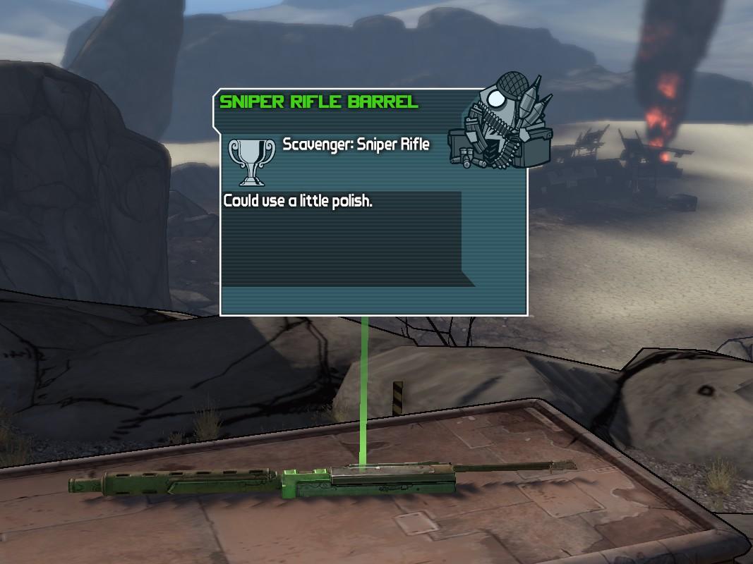 Scavenger: Sniper Rifle