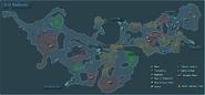 The Arid Badlands Map