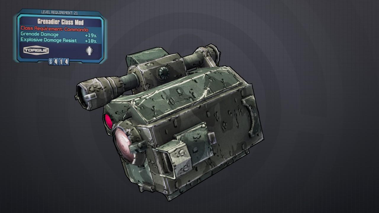 Grenadier (class mod)
