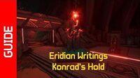 Konrad's Hold Eridian Writings