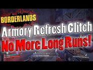 Borderlands - Armory Refresh Glitch - No More Long Runs!