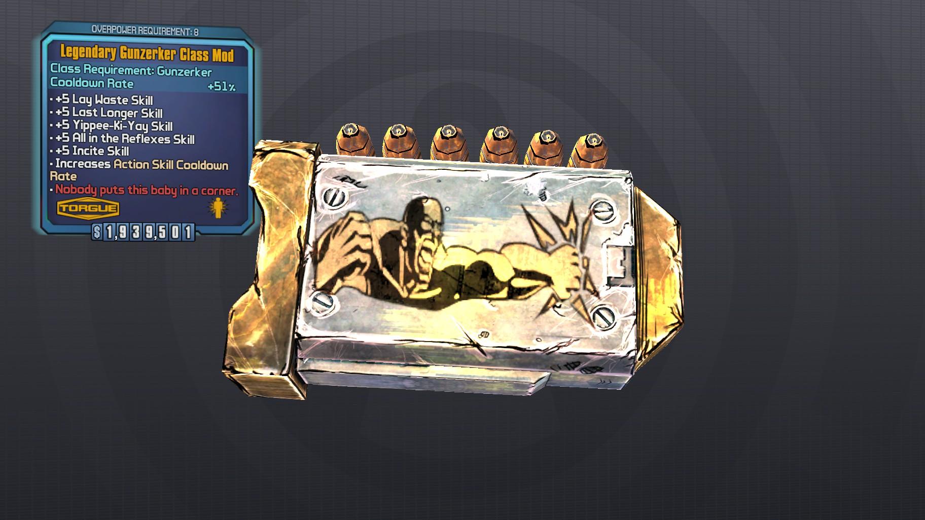 Legendary Gunzerker