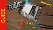 Sapphire's Run ECHO Logs