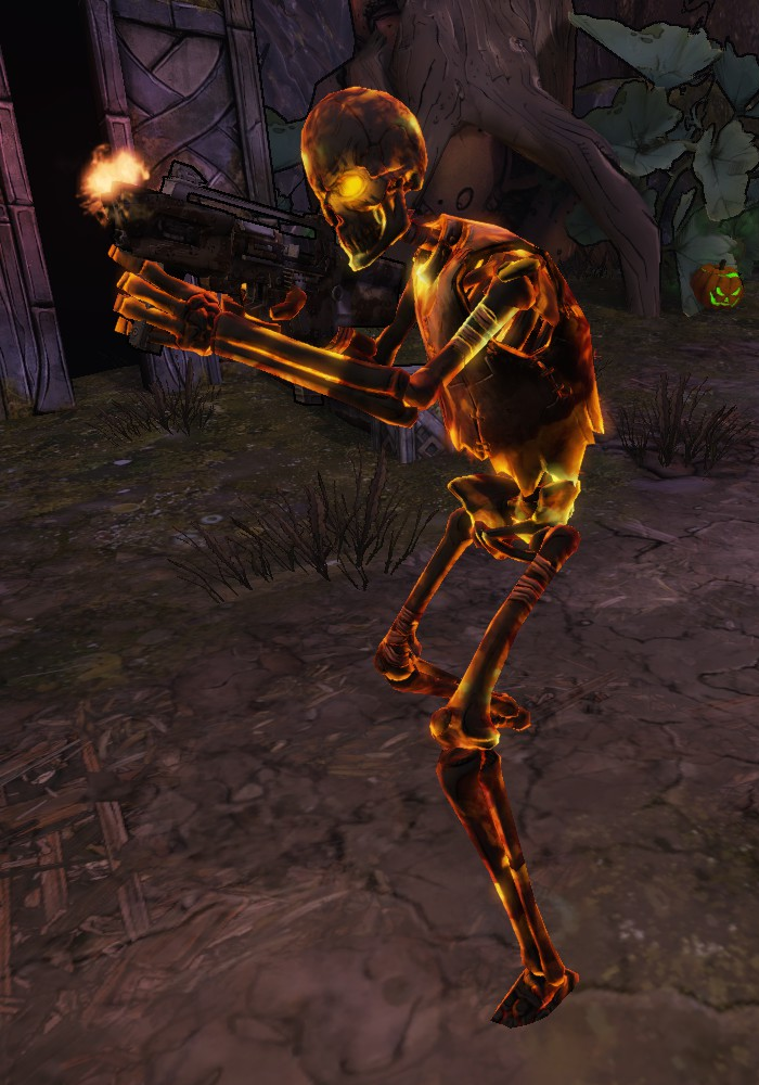 Burning Undead Marauder