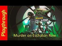 Murder on Eschaton Row