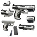 Dahl pistol breakdown