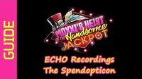 ECHO Recordings (The Spendopticon)