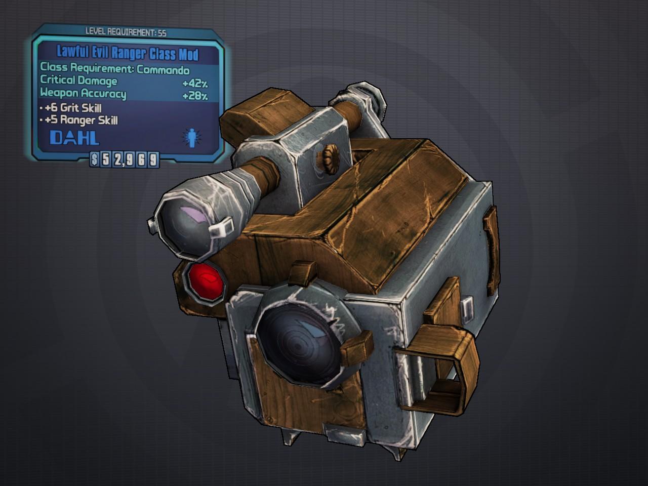 Ranger (class mod)