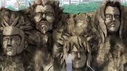 Hokage Stone face 2