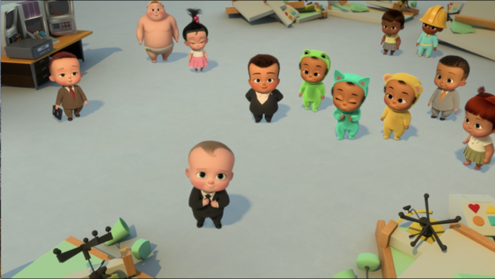 Six Well-Placed Kittens - Board of directors offering Boss Baby a job.png