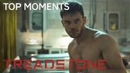 Treadstone Top Moments Bentley Fights A KGB Agent on USA Network