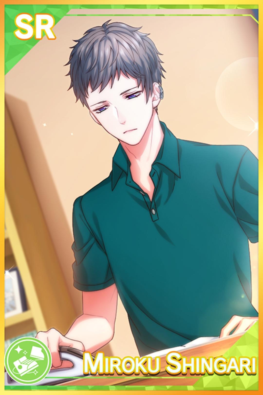 【Keepsake Shirt】Shingari Miroku
